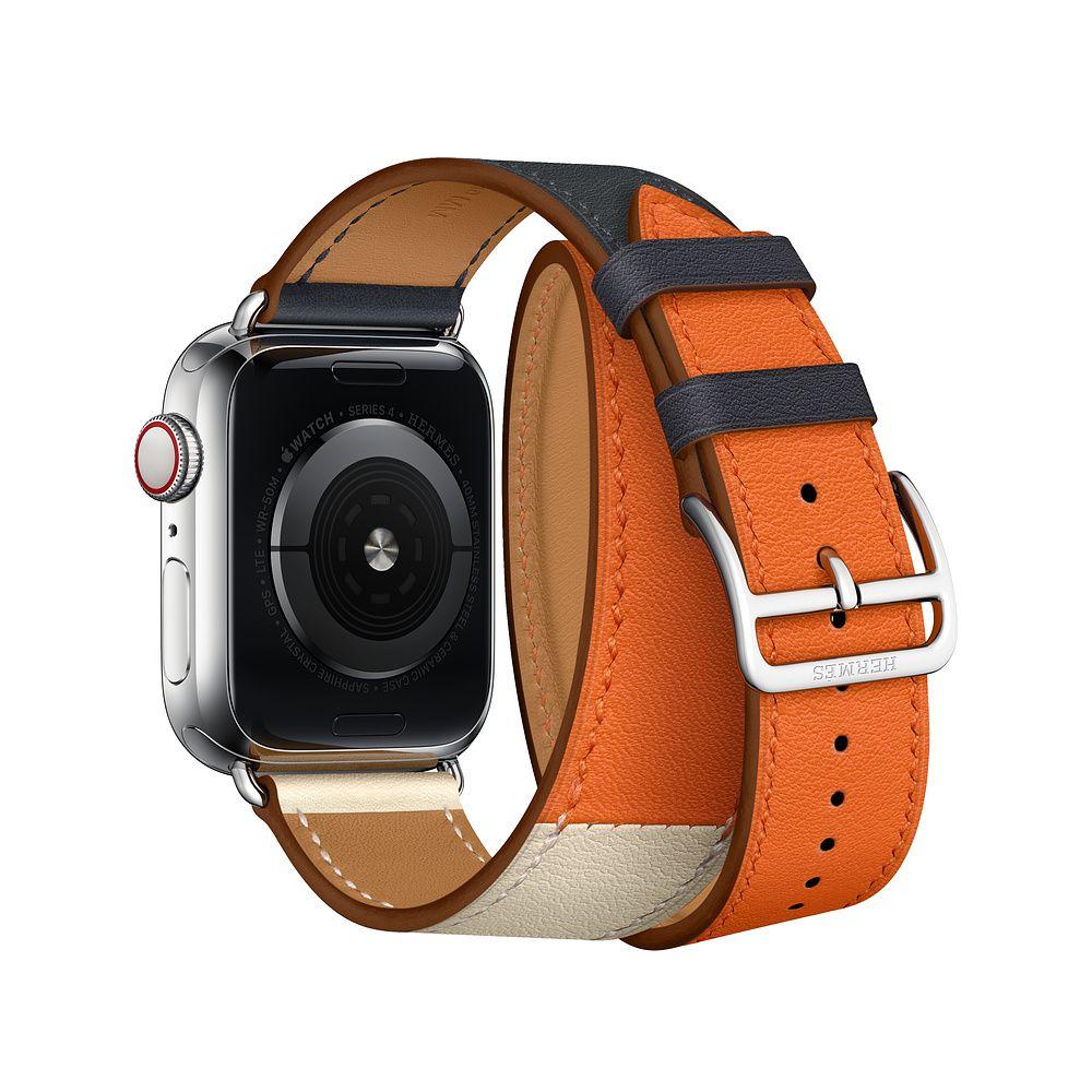 Dây da Apple Watch Hermès Double Tour - COTEETCI -
