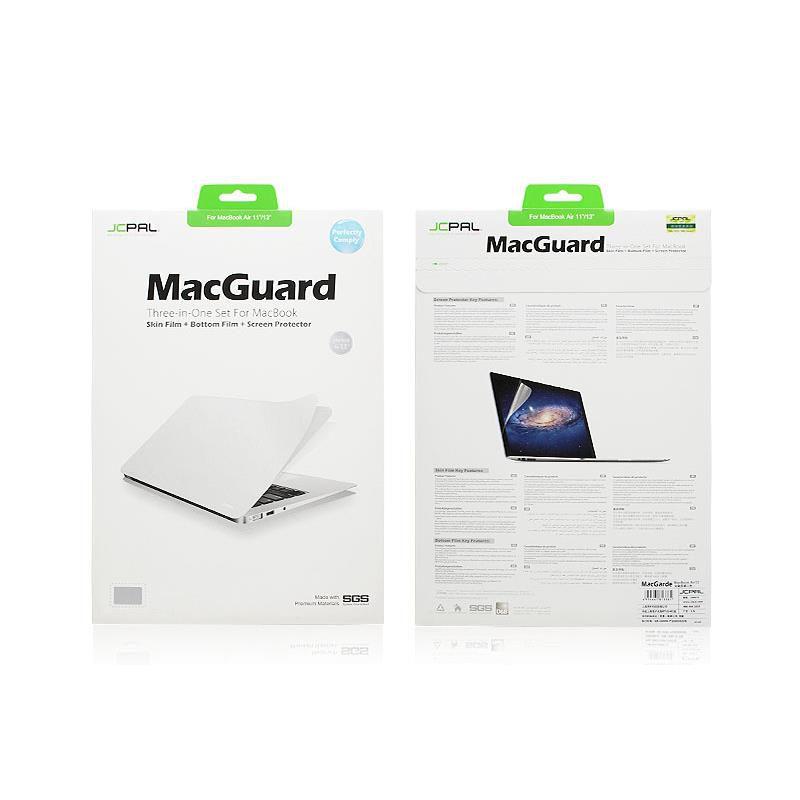 Bộ dán 5in1 JCPAL Mac Guard