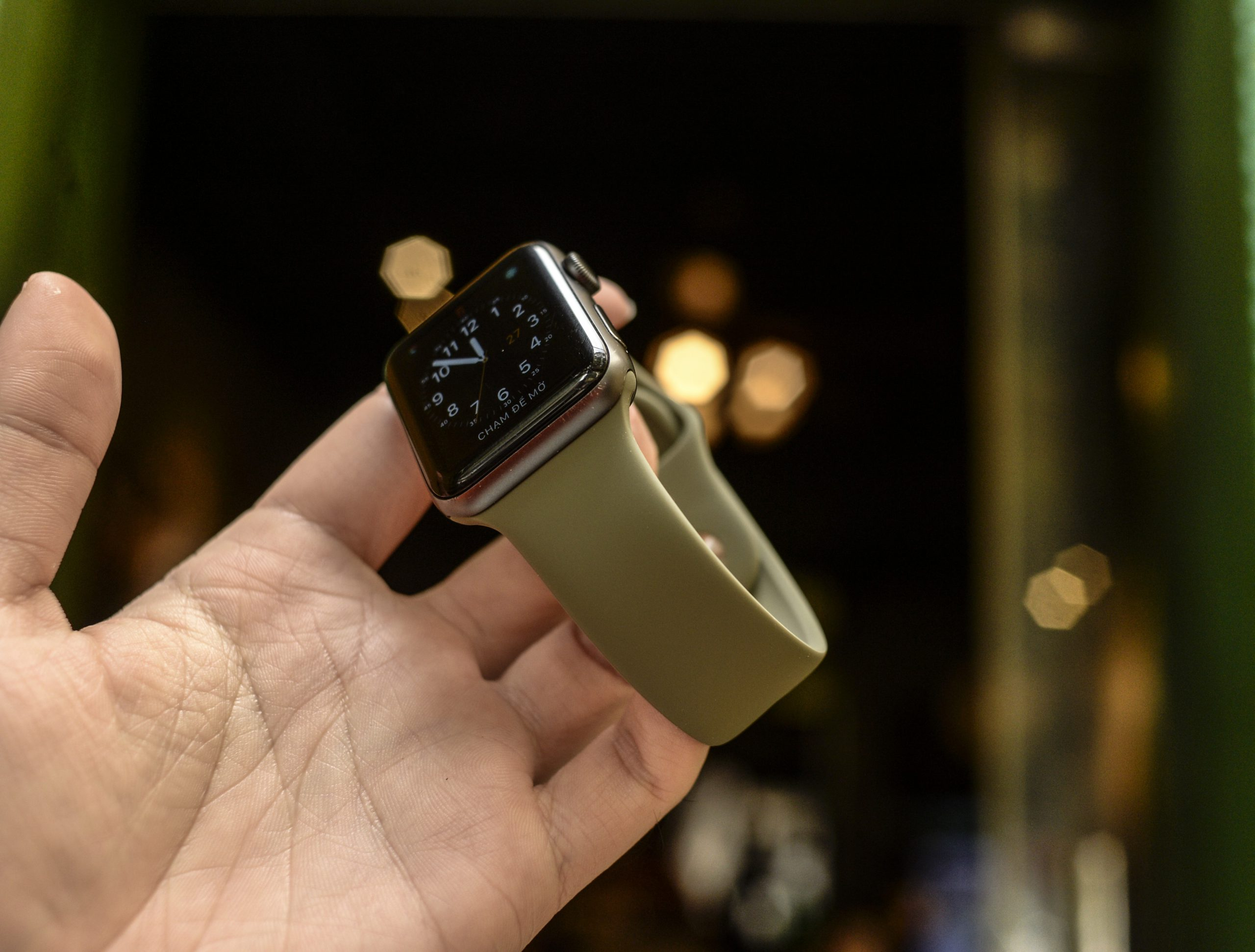 Dây Sport Cao Su cho Apple Watch - Coteetci -