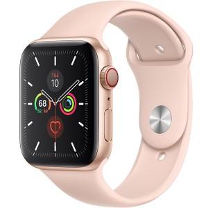 Apple Watch S5 40mm MWX22 (LTE) – Viền Nhôm Vàng – Dây Hồng