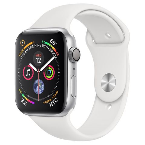 Apple Watch S5 44mm MWVD2/A (GPS) Viền Nhôm Bạc – Dây Trắng