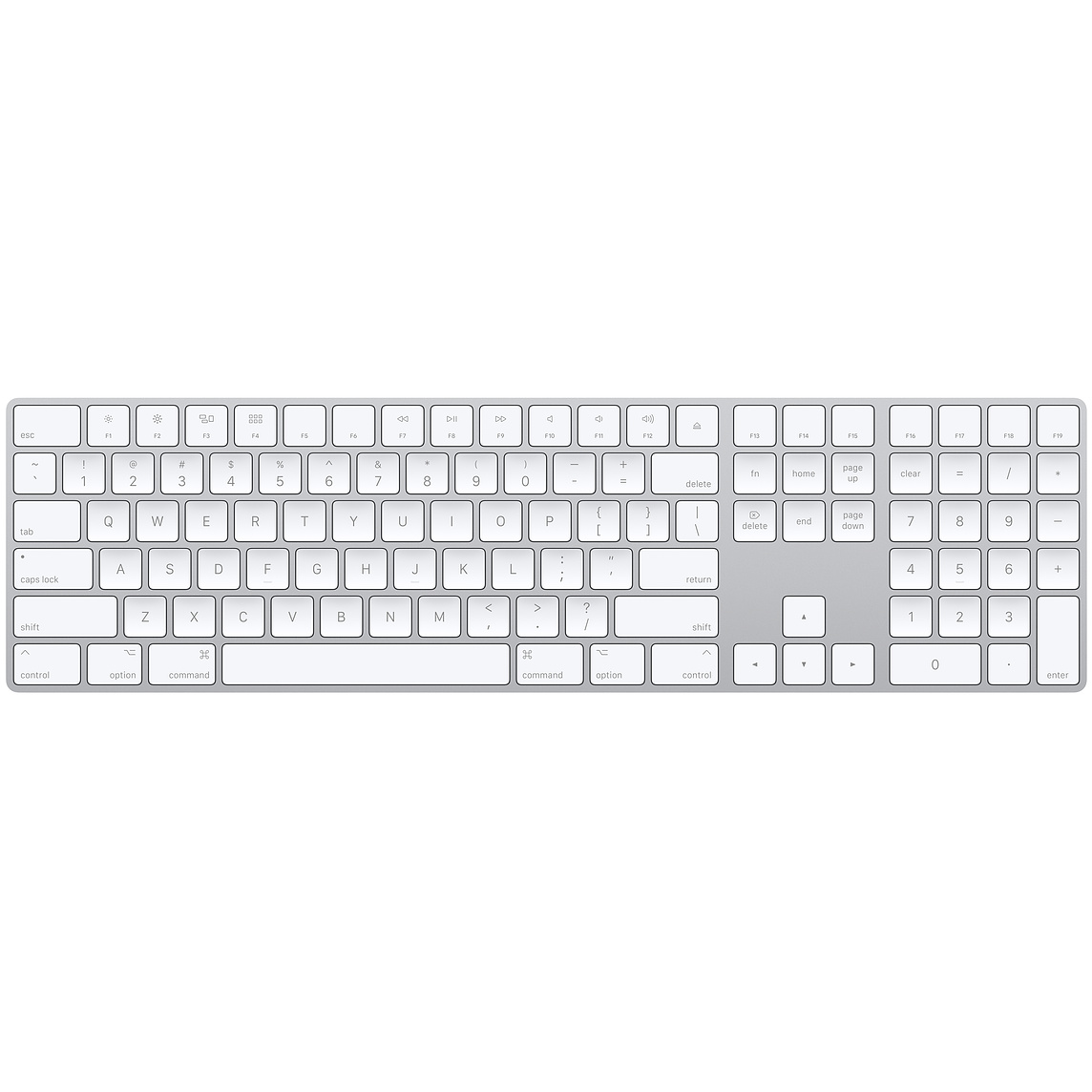 Bàn phím Apple Magic Keyboard with Numeric Keypad 99%