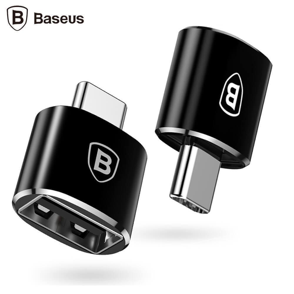 Đầu chuyển Mini Type-C sang USB Baseus