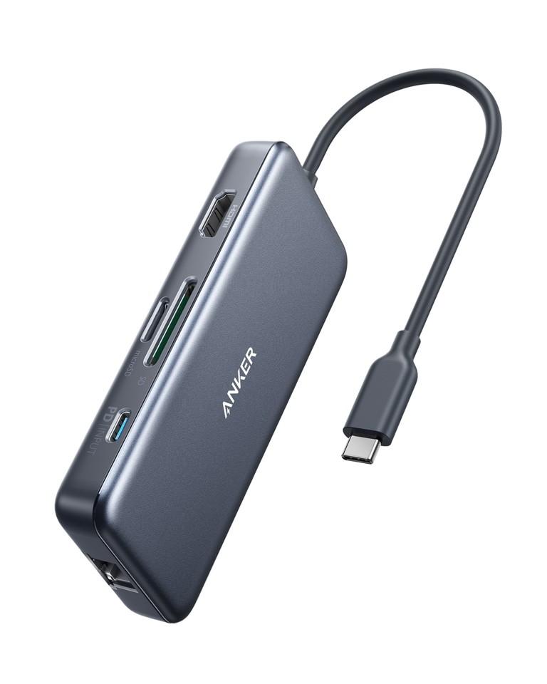 Hub chuyển ANKER PowerExpand+ 7in1 USB-C PD