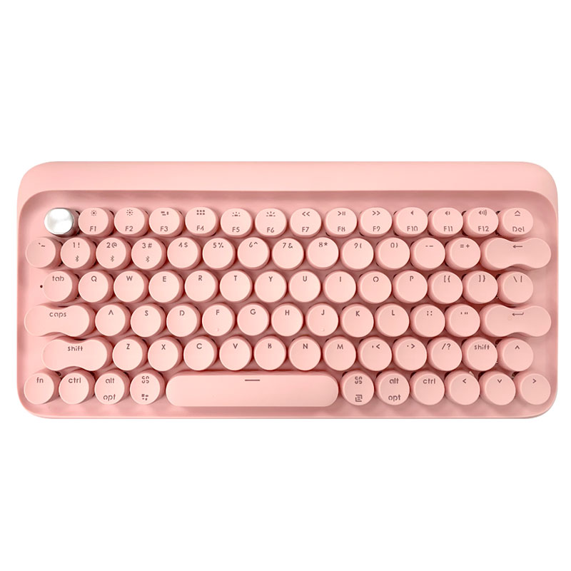 Bàn phím cơ DOT Pink Sakura – LOFREE
